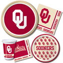 University of Oklahoma Party Supplies