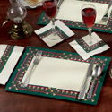 Paper Placemats with Patterns