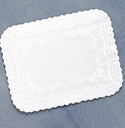 Paper Tray Mats - Covers White