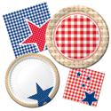 Patriotic Picnic Party Supplies