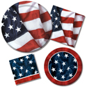 Patriotic Themed Party Supplies - Fourth of July