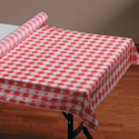 Plastic Banquet  Table Covers - Rolls