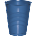True Blue Plastic Beverage Cups