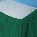 Plastic Table Skirts - Skirting