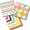 Polka Dots and Stripes Themed Party Supplies