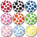 Polka Dots Paper Dessert Plates