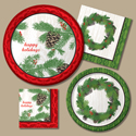Yuletide Winter Recycled Party Supplies