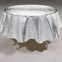 Octy-Round Metallic Table Covers