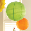 Round Paper Lanterns - 12 Inch