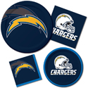 San Diego Chargers NFL Party Supplies