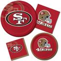 San Francisco 49ers NFL Party Supplies