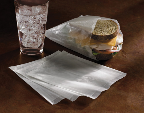 Waxed Sandwich Bags - 6,000 Case Count