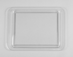 Clear Acrylic Serving Trays - 18 x 13 Inches