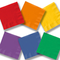 Solid Colored Party Supplies - Bargain Basics
