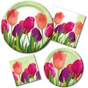Spring Tulips Tableware