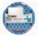 Sturdy Paper Plates and Napkins - Party Packs