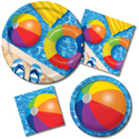 Summer Pool Paper Napkins & Party Plates
