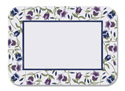 Trumpet Floral Paper Tray Mats