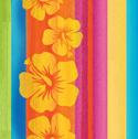 Tropical Stripes Paper Luncheon Napkins