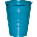 Turquoise Plastic Beverage Cups