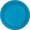 Turquoise Plastic Plates