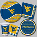 West Virginia University Party Supplies