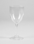 Clear Premium Plastic Wine Glasses - 10 Oz (24 Ct.)