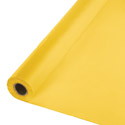 School Bus Yellow Plastic Table Cover Roll